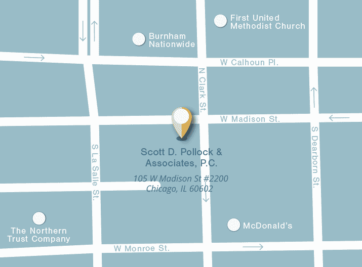 Scott Pollock Office Map